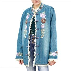 Venezia Vitale China Girl Denim Jacket